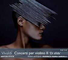 """CONCERTI PER VIOLINO II """"DI SFIDA""""  CD NEUF VIVALDI,ANTONIO"""