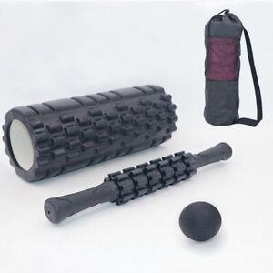 Hollow EVA Foam Roller set for Muscle Rollers Massage Balls Back Massager Stick