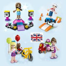 8Pcs/set Girl Friends Series Building Block Bricks Toys Assemble Puzzle Gift