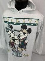 Vintage Mickey Mouse T Shirt Hoodie Disney XL Minnie Cartoon Tee Hood 90s