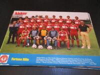 031018 Fortuna Köln Kicker Mannschaftsbild 83 - 84 ( Poster) Größe A4