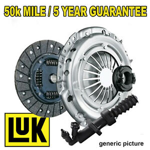 FITS PEUGEOT 407 SW 1.6 HDI 110 04- OE REPSET PRO CLUTCH KIT + RELEASER + SLAVE