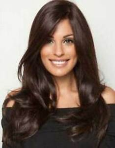 WGZWJF904 new style long dark brown wavy hair WIG wigs for women