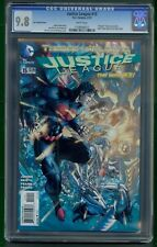 Justice League #15 (2013) CGC Graded 9.8 ~ Jim Lee Variant ~ Shazam Story DC