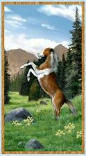 Wilmington Roaming Wild by Kevin Daniel 30167 472 Large Panel Cotton Fab