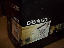 Empty  Genuine Lexmark  with Box   C930X72G