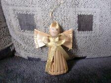 Christbaumschmuck, Engel aus Stroh