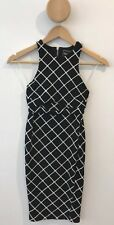 Nookie Black And White Two Piece Top And Skirt Set With Cut Outs Kookai