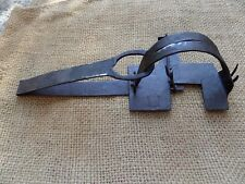 VINTAGE ANTIQUE WROUGHT IRON ANIMAL TRAP BLACKSMITH HAND FORGED