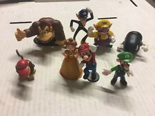 Mario And Friends Figurines, LOT Of 5 Random Figurines To Collect/Trade