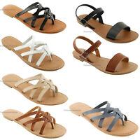 Women's New Sandals Fashion Thong Shoes Flops Flip Flat Size Slipper Sandal Sale