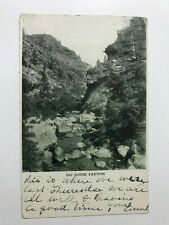 Big Goose Canyon Sheridan Wyoming WY Postcard