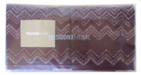 MISSONI HOME SET ASCIUGAMANI OSPITE BUSTA LOGO KEITH 491 HAND TOWEL SET 40x70