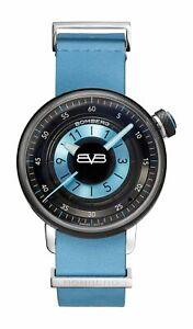 Bomberg Women's CT38H3PBA-06-1-9 BB-01 38mm Black/Blue Dial Leather Watch