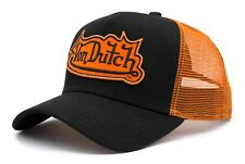 VON van DUTCH MESH TRUCKER BASE CAP [FASHION ORANGE PATCH] MÜTZE BASECAP KAPPE H