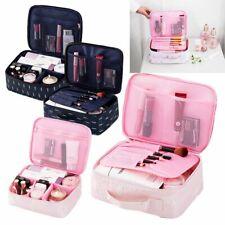 Large Professional Makeup Bag Cosmetic Case Storage Handle Organizer Travel Kit