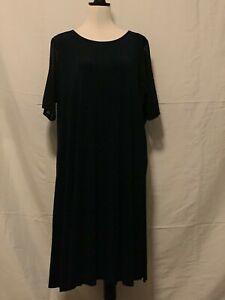 Blue Illusion Dress Size 3XL