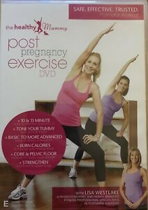 THE HEALTHY MUMMY POST PREGNANCY EXERCISE DVD REGION ALL PAL WITH LISA WESTLAKE!