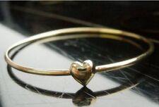 Buen karma Amor Corazón Bangle Bracelet Regalo Dulce Cumpleaños Navidad Boda Reino Unido