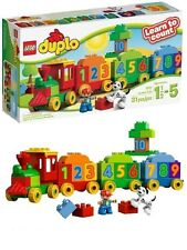 LEGO DUPLO 10558 the train of numbers learn to count new buildings games