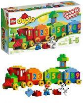 LEGO DUPLO 10558 il treno dei numeri learn to count nuovo costruzioni giochi