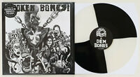 Broken Bones 'Dem Bones' limited special QUAD black &white quartered! RSD vinyl