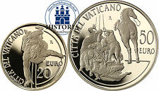 Vatican 20 & 50 Euro OR 2012 PP 2 pièces d'or la conversion du Saint Paul