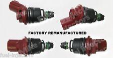 Set of 4 OEM Injectors 1991-1999 Nissan & Infiniti 2.0L & 2.4L, # 16600-10Y00