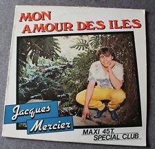 Jacques Mercier, mon amour des iles, Maxi vinyl