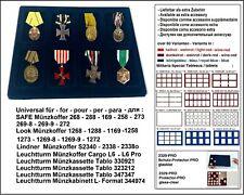 LOOK 12332-8 Sammeltableaus 8 Fächer 64 x 86 x 10 mm Für Schützenmedaillen Orden