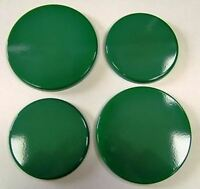 """New Set of 4 """"GREEN""""  Enamel Electric Oven Hob Covers - 2 x 16cm and 2 x 20cm"""