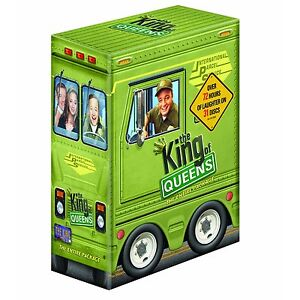 KING OF QUEENS COMPLETE SERIES COLLECTION 1-9 DVD BOX SET 31 DISC R4 NEW&SEALED