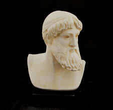 God Zeus or Poseidon bust museum reproduction sculpture artifact