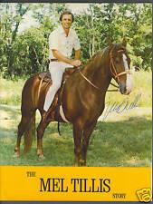 The Mel Tillis Story signed vintage program