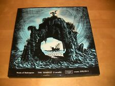 9/2R Works Of Shakespeare - The Tempest / NM 3 LP Box / ZPR 251-3