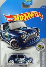 HotWheels Ice blue Mini Cooper S Mint on mint USA card