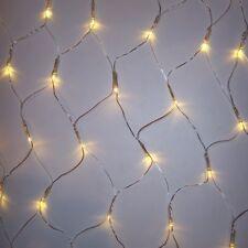 Pavillon LED Lichternetz 128er warmweiß 3x3m Kabel transparent BA11752