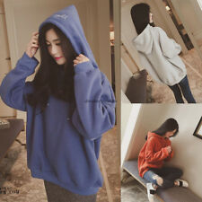 Chic Women Casual Loose Hooded Slim Pullover Sweatshirt Blouse Top Outwear Coat