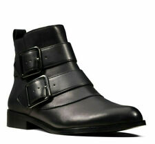 BNIB Clarks Ladies Bizzy Lane Black Leather Ankle Boots