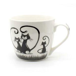 Tasse Kaffee Tee Katze Porzellan Jameson & Tailor