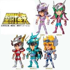 Set 5Pcs Saint Seiya SS01 Shiryu Shun Hyoga Jabu Seiya Figure Toy New no Box