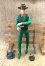 Marx Johnny West Jimmy West Rare Canadian Figure  Bronze Accessories !!!