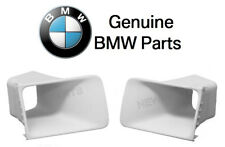 NEW BMW E30 318i 325i Pair Set of Left and Right Air Duct for Front Valances OES