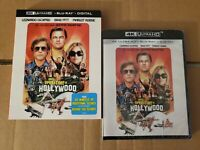 LIKE NEW!! - Once Upon A Time In Hollywood: w/Slipcover (4K Ultra HD & Blu-ray)