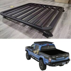 For Toyota Tacoma 2021 Roof Rack Basket Luggage Carrier Baggage (4 Door)