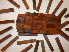 100 Pieces End Grain Crosscut Cocobolo With Some White Wood 34 X 34 X 5 Long