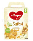 Milupa Safaris Animal Shape Baby Biscuits Cookies From 6 Month 180g 6.5oz