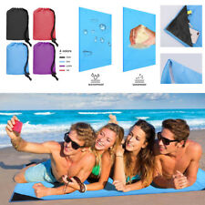 Large Picnic Blanket Beach Mat Outdoor Portable Camping Park Rug Hiking Gear USA