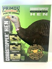 New ListingGobbstopper Lifelike Upright Turkey Hen Decoy by Primos Hunting with Stake 69065