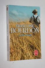 Le Fils maudit - Françoise Bourdon - Livre de poche n° 33870